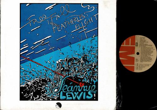 Jeannie Lewis-Free Fall Through Featherless Flight-VINYL LP-USED-Aussie press