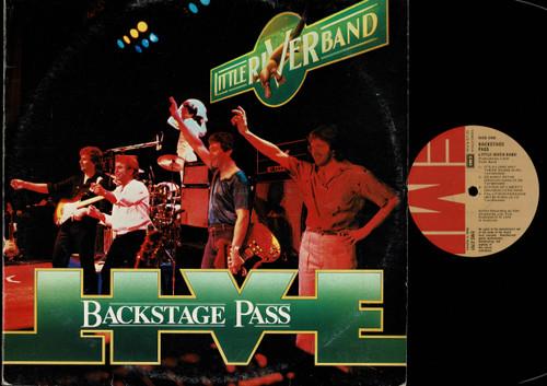 Little River Band-Backstage Pass Live-VINYL LP-USED-Aussie press