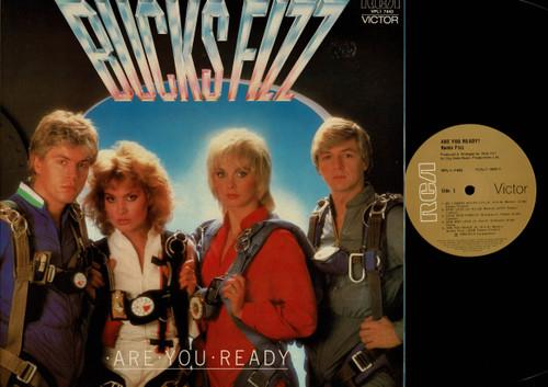 Bucks Fizz-Are You Ready?-VINYL LP-USED-Aussie press