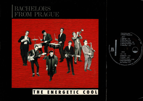 Bachelors From Prague-The Energetic Cool-VINYL LP-USED-Aussie press