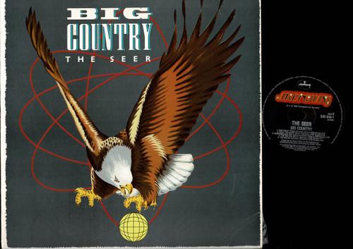 Big Country-The Seer-VINYL LP-USED-Aussie press