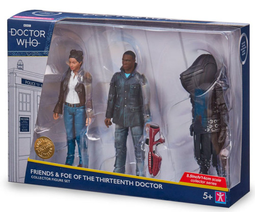 Doctor Who - Friends & Foe of the Thirteenth Doctor Action Figures Set 3-pack-CHA07203-CHARACTER GROUP