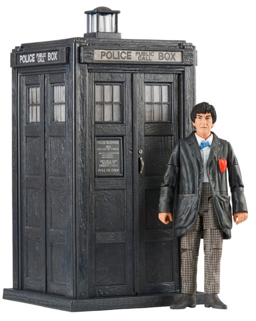 Doctor Who - Second Doctor and TARDIS Set-CHA07205-CHARACTER GROUP