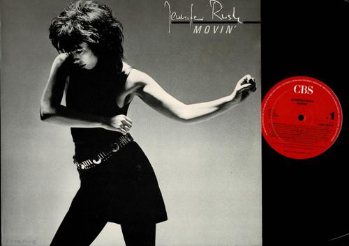 Jennifer Rush-Movin'-VINYL LP-USED-German press