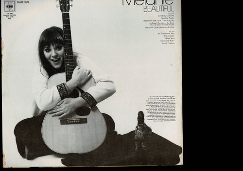 Melanie -Beautiful-VINYL LP-USED-Aussie press