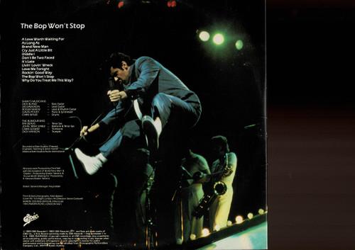 Shakin' Stevens-The Bop Won't Stop-VINYL LP-USED-Aussie press