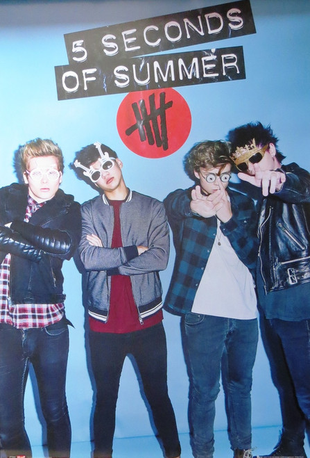 5 Seconds Of Summer -Sunglasses  -Poster-Laminated available-90cm x 60cm-Brand New