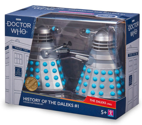 Doctor Who - History of the Daleks Twin Pack Assortment #1-CHA07206-CHARACTER GROUP