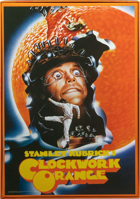A Clockwork Orange - Kubrick Poster 1000 piece Jigsaw Puzzle-IKO1731-IKON COLLECTABLES