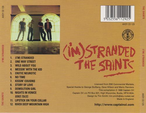 The Saints  – (I'm) Stranded CD-Brand New