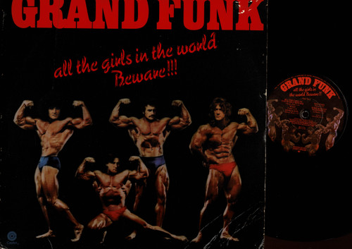 Grand Funk Railroad-All The Girls In The World Beware !!!-VINYL LP-USED-US press