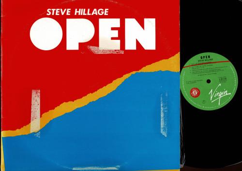 Steve Hillage-Open-VINYL LP-USED-Aussie press