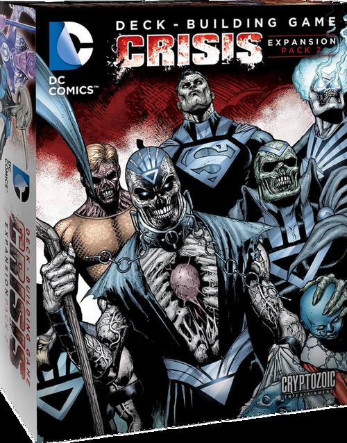 DC Comics - Deck-Building Game Crisis 2 Expansion-CRY01825-CRYPTOZOIC ENTERTAINMENT