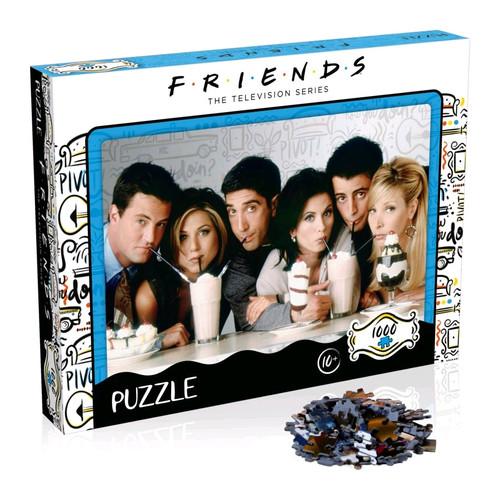 Friends - Milkshake 1000pc Puzzle-WINWM00377-WINNING MOVES