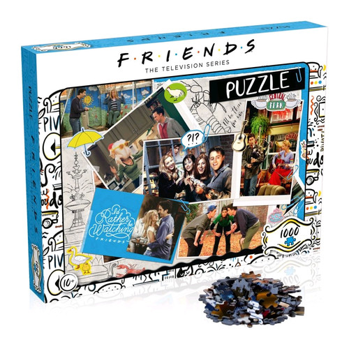 Friends - Scrapbook 1000pc Puzzle-WINWM00378-WINNING MOVES