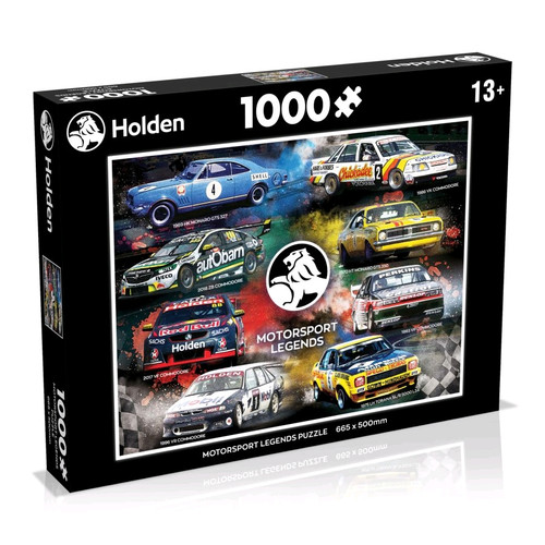 Holden - Legends 1000 piece Jigsaw Puzzle-WINWM00959-WINNING MOVES