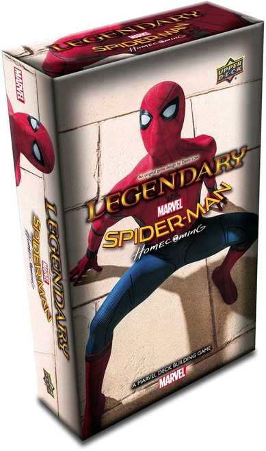 Marvel Legendary -  Spider-Man Homecoming Deck-Building Game Expansion-UPP87947-UPPER DECK