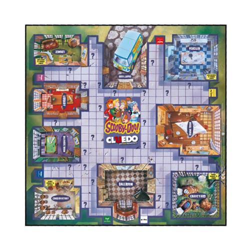 Cluedo - Scooby Doo Edition-WINWM00565-WINNING MOVES