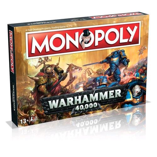 Monopoly - Warhammer 40K Edition-WIN035484-WINNING MOVES