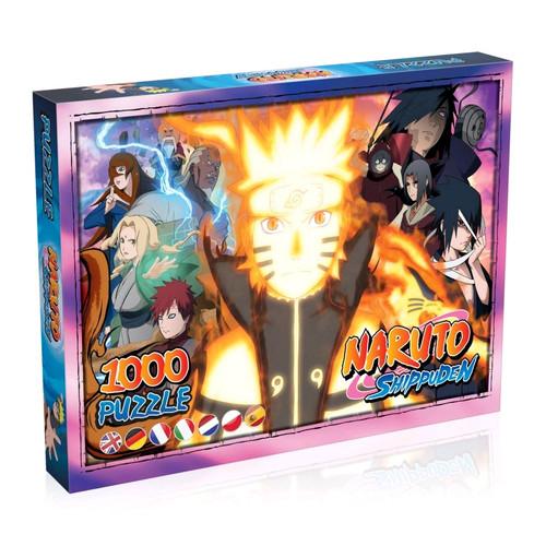 Naruto: Shippuden - 1000 piece Jigsaw Puzzle-WINWM00139-WINNING MOVES