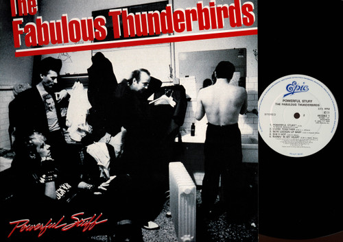 The Fabulous Thunderbirds-Powerful Stuff-VINYL LP-USED-UK press-LP_993