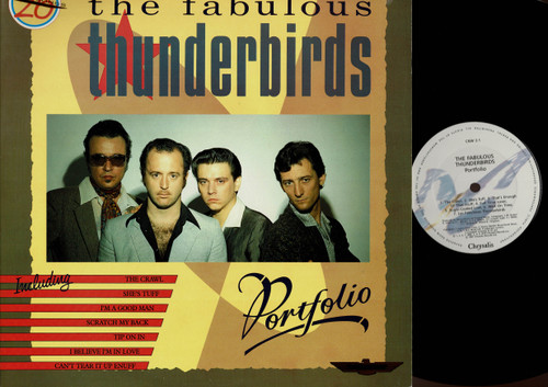 The Fabulous Thunderbirds-Portfolio-VINYL LP-USED-UK press-LP_994