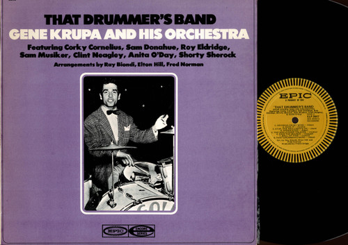 Gene Krupa And His Orchestra-That Drummer's Band-VINYL LP-USED-Aussie press-LP_1000