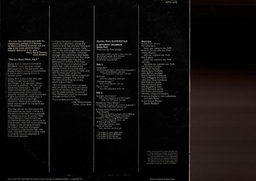 Buddy Rich-Superstar-VINYL LP-USED-UK press-LP_1007
