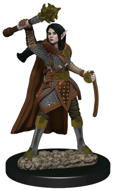 Dungeons & Dragons - Icons of the Realms Female Elf Cleric Premium Miniature-WZK93021-WIZKIDS GAMES