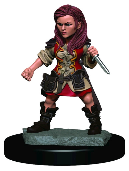 Dungeons & Dragons - Icons of the Realms Female Halfling Rogue  Premium Miniature-WZK93019-WIZKIDS GAMES