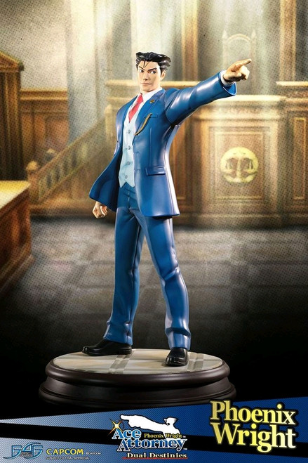Ace Attorney - Phoenix Wright Statue-F4FPHXWST-FIRST 4 FIGURES