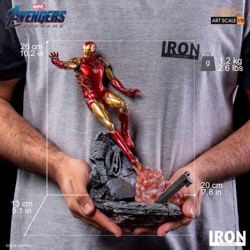 Avengers 4: Endgame - Iron Man Mark LXXXV 1:10 Scale Statue-IRO99523-IRON STUDIOS