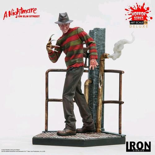 Nightmare on Elm Street - Freddy Deluxe 1:10 Scale Statue-IRO99875-IRON STUDIOS