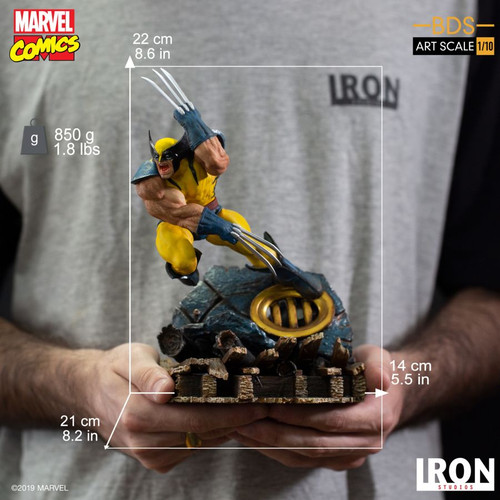 X-Men - Wolverine 1:10 Scale Statue-IRO00175-IRON STUDIOS