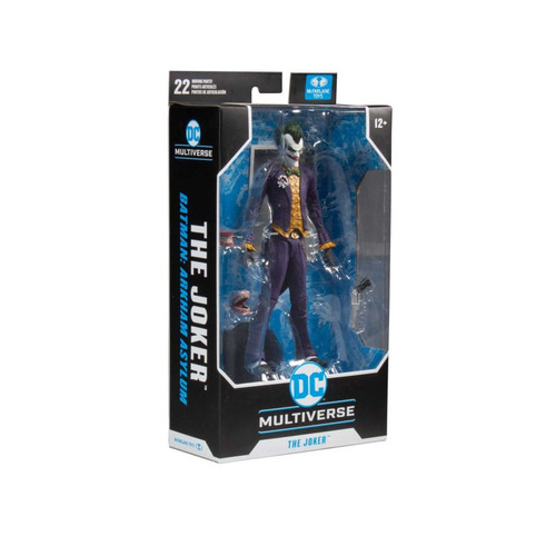 """Batman: Arkham Asylum - Joker 7"""" Action Figure -MCF15347-MCFARLANE TOYS"""