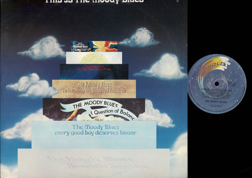 The Moody Blues-This Is The Moody Blues-VINYL LP-USED-Aussie press-LP_1016
