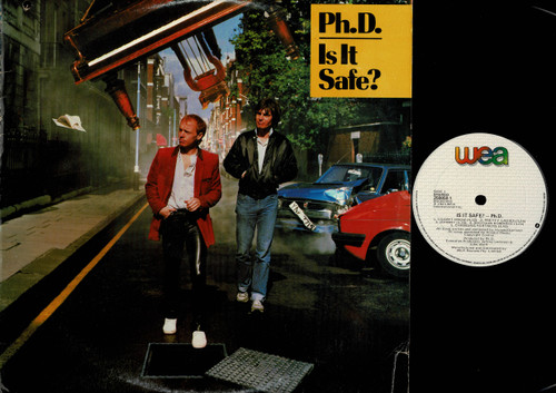 Ph.D.-Is It Safe?-VINYL LP-USED-Aussie press-LP_1023