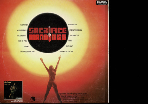 Mandingo -Sacrifice-VINYL LP-USED-Aussie press-LP_1035