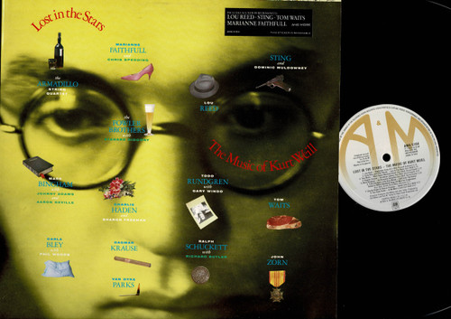 Various-Lost In The Stars - The Music Of Kurt Weill-VINYL LP-USED-Aussie press-LP_1069