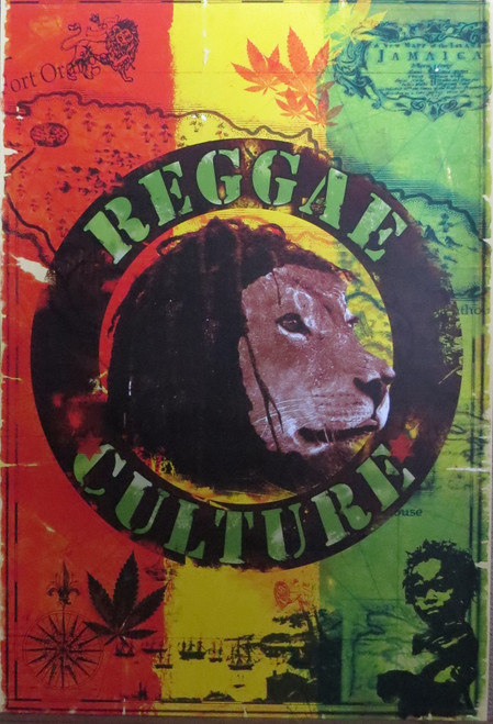 Reggae Culture-Poster-Laminated available-90cm x 60cm-Brand New