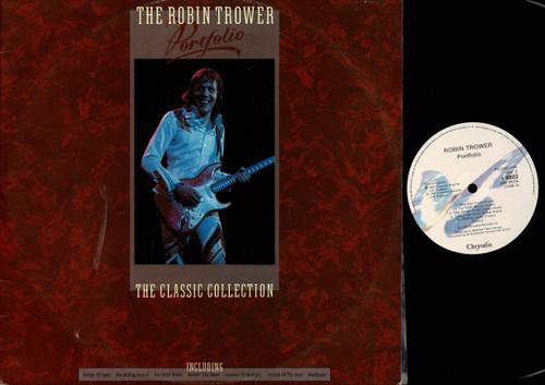 Robin Trower-The Robin Trower Portfolio-VINYL LP-USED-Aussie press-LP_1105