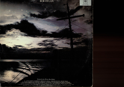 Bob Dylan-Slow Train Coming-VINYL LP-USED-Aussie press-LP_1112