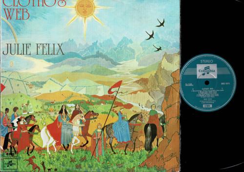 Julie Felix-Clotho's Web-VINYL LP-USED-Aussie press-LP_1117