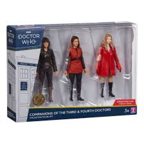Doctor Who - Fourth Doctor Companions Action Figure 3-pack-CHA07244-CHARACTER GROUP