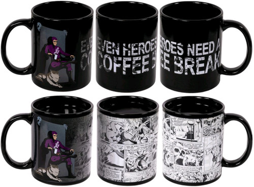 The Phantom - Coffee Break Heat Change Mug-IKO1780-IKON COLLECTABLES