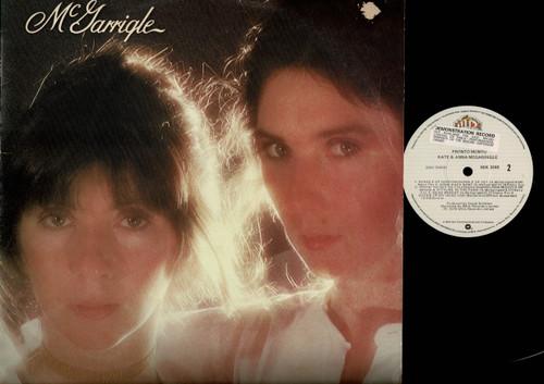 Kate & Anna McGarrigle-Pronto Monto-VINYL LP-USED-US press-LP_1152
