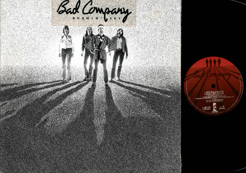 Bad Company -Burnin' Sky-VINYL LP-USED-Aussie press-LP_1159