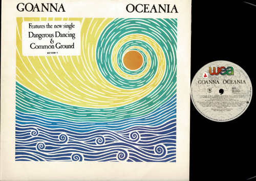 Goanna-Oceania-VINYL LP-USED-Aussie press-LP_1174