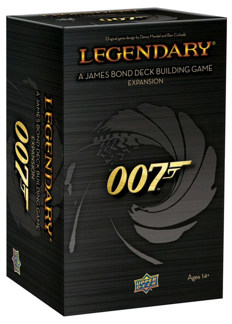 Legendary - 007 James Bond Deck-Building Game Expansion-UPP94114-UPPER DECK