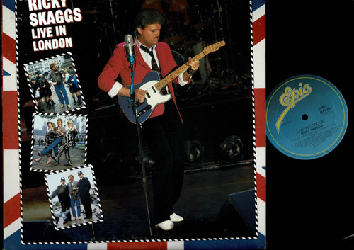 Ricky Skaggs-Live In London-VINYL LP-USED-Aussie press-LP_1196